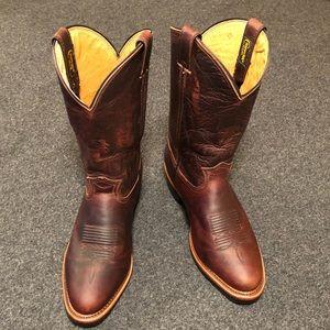 "12"" Chippewa western boots size 11.5 EE  USA made"